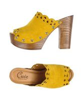 CUIR Mules & Zoccoli donna