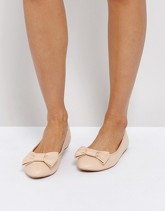 Truffle Collection - Ballerine con fiocco - Beige