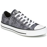 Scarpe Converse  CHUCK TAYLOR ALL STAR LUREX SNAKE OX BLACK/SHARKSKIN/WHITE