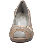 Scarpe Mary Collection  scarpe donna  decolte beige tessuto vernice AF749
