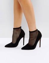 ASOS - POLISHED - Scarpe a calza con tacco alto - Nero 8aa7a2c3c02