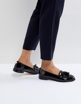 Carvela - Mocassini in vernice con nappe - Nero