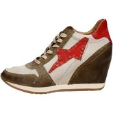 Scarpe Airstep / A.S.98  186203 Sneakers Alta Donna MARRONE/BEIGE