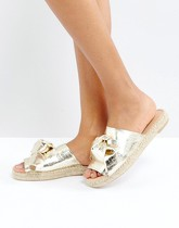 Carvela - Slider metallici - Oro
