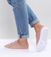 ASOS DESIGN - Daisy - Sneakers a pianta larga - Beige